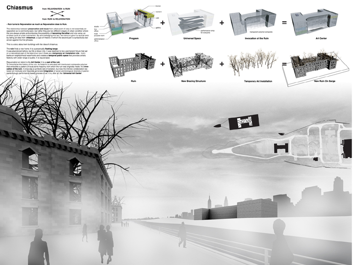 Honorable Mention, The 2006 ENYA International Ideas Competition/AIA New York Chapter